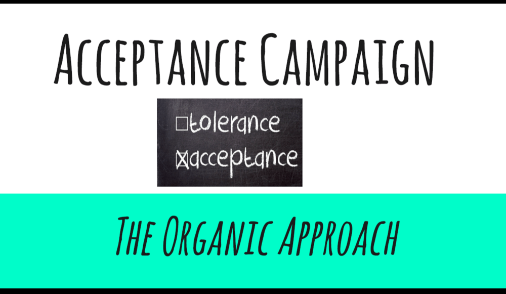 Acceptance Campaign powerpoint